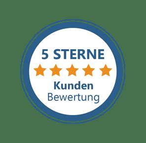 5 Sternen Bewertung